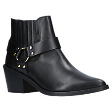 Buy Carvela Sheriff Block Heel Ankle Boots Online at johnlewis.com
