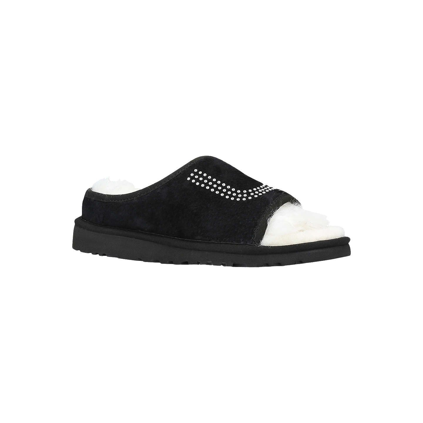 UGG Slide Stud Slippers 4346 - Slippers Black Suede Suede chez John Lewis 3a06e18 - freemetalalbums.info