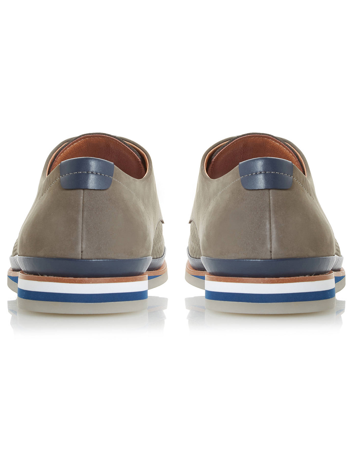 BuyBertie Booster Gibson Shoes, Grey Nubuck, 6 Online at johnlewis.com