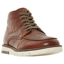 Buy Bertie Cashin Leather Boots, Tan Online at johnlewis.com