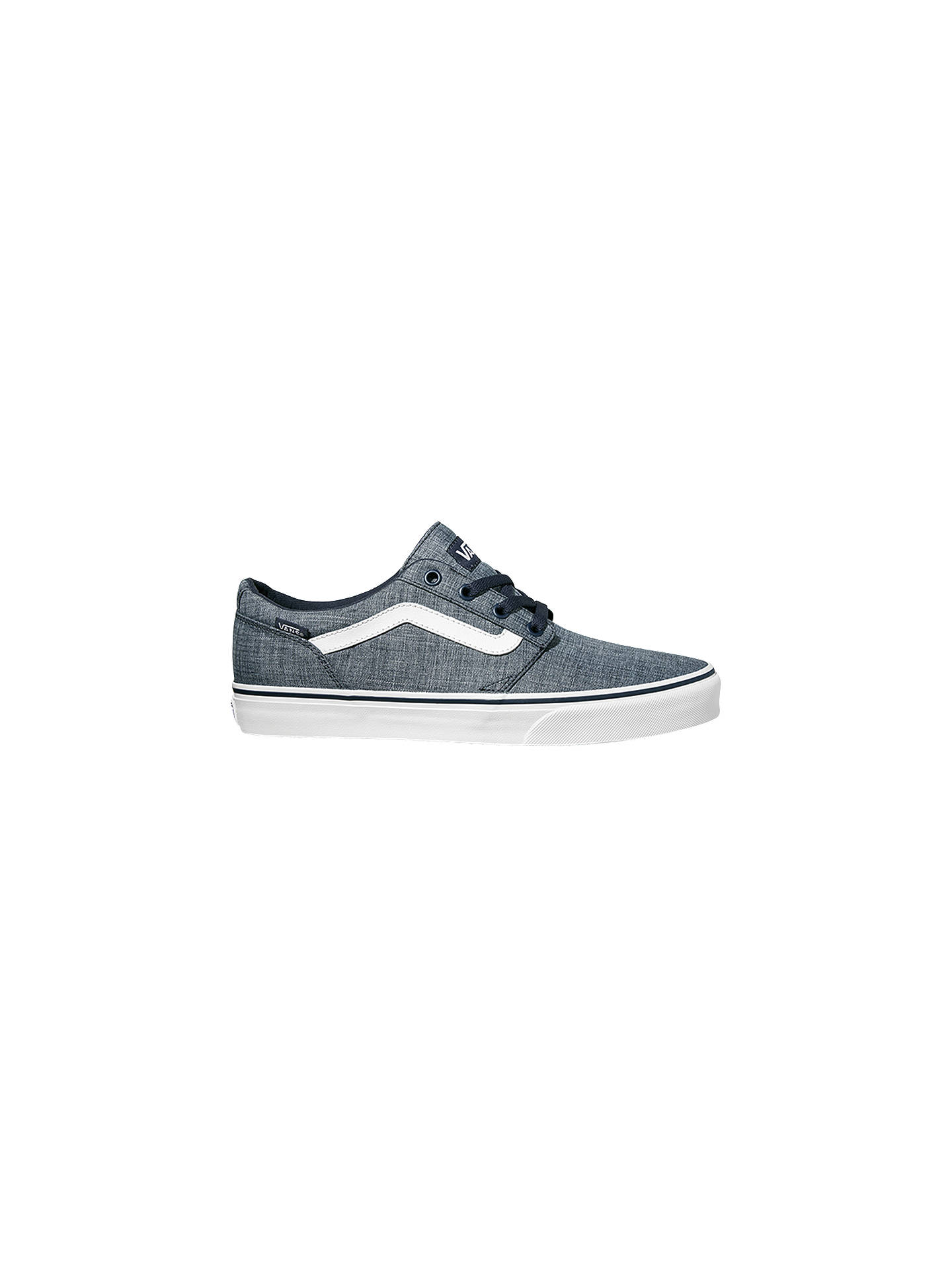 82565363a11 Vans Chapman Stripe Canvas Trainers at John Lewis   Partners