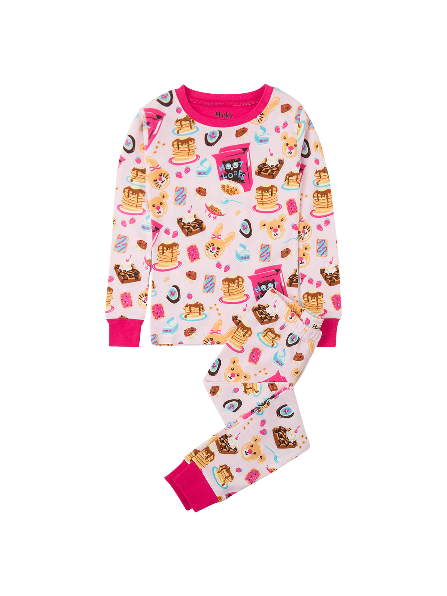 c1aad1a37 Hatley Girls  Breakfast Organic Cotton Pyjamas