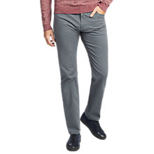 Buy BOSS Maine Regular Fit Jeans, Dark Grey Online at johnlewis.com