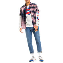 Buy Tommy Jeans Short Sleeve Check Shirt Online at johnlewis.com