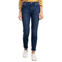 Buy White Stuff Hawthorn Slim Boyfriend Jeans, Mid Blue Online at johnlewis.com