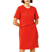Buy Warehouse Tie Front Dress Online at johnlewis.com
