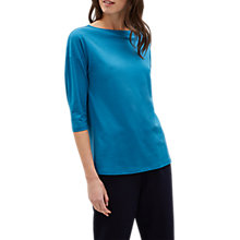 Buy Jaeger Jersey Top, Blue Online at johnlewis.com