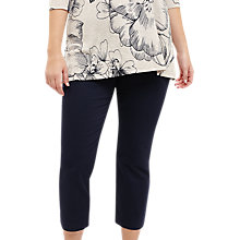 Buy Studio 8 Caz Cropped Trousers, Navy Online at johnlewis.com