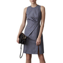 Buy Reiss Chelton Tailored Dress, Blue Online at johnlewis.com