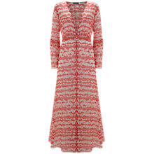 Buy Mint Velvet Callie Print Longline Cover Up, Multi Online at johnlewis.com
