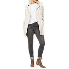 Buy Mint Velvet Trench Coat, Neutral Online at johnlewis.com