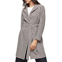 Buy Reiss Mae Check Wrap Coat, Multi Online at johnlewis.com