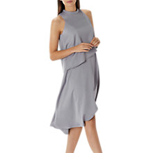 Buy Coast Jasmine Soft Tiered Dress, Grey Online at johnlewis.com