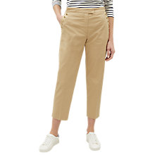 Buy Jaeger Shank Button Chinos, Stone Online at johnlewis.com