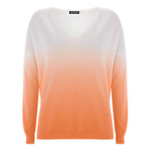 Buy Mint Velvet Ombre Batwing Jumper, Multi Online at johnlewis.com