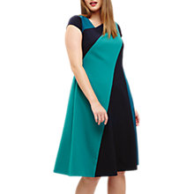 Buy Studio 8 Michelle Colour Block Dress, Blue/Green Online at johnlewis.com