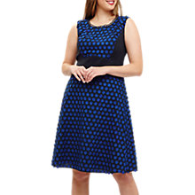 Buy Studio 8 Eden Spot Dress, Blue Online at johnlewis.com