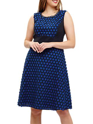 Studio 8 Eden Spot Dress, Blue