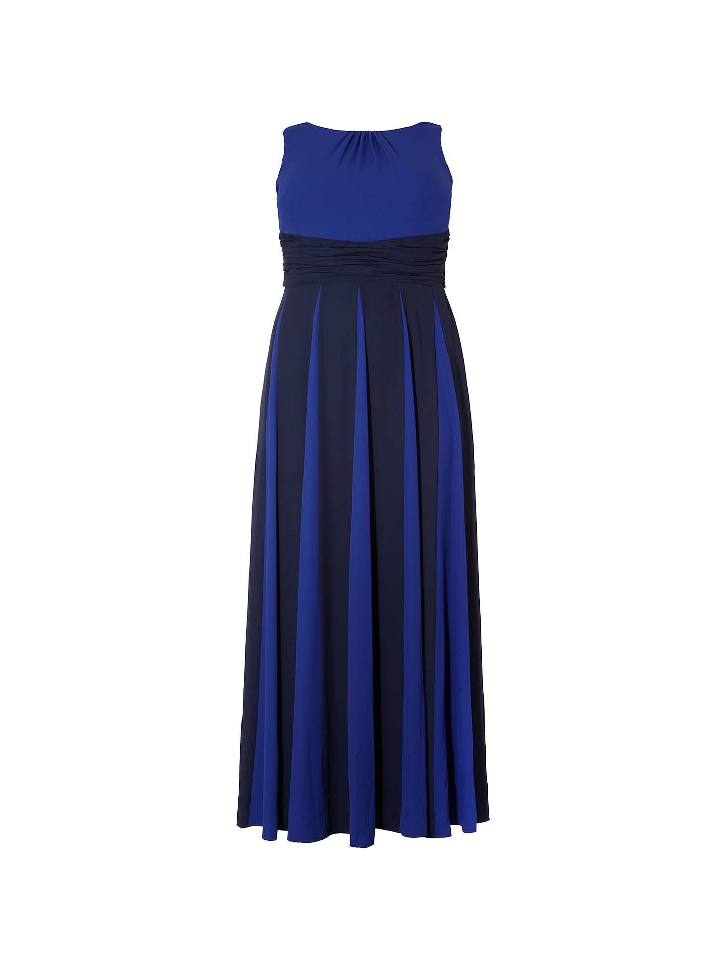 BuyStudio 8 Bo Maxi Dress, Blue, 14 Online at johnlewis.com
