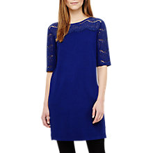 Buy Phase Eight Laken Lace Knitted Tunic, Sapphire Online at johnlewis.com