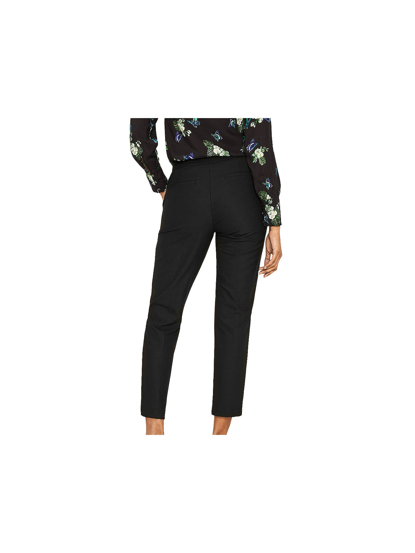 50d604385eb2 ... Buy Oasis Camilla Split Detail Trousers, Black, 6 Online at  johnlewis.com ...