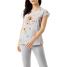 Buy Fenn Wright Manson Petite Petunia Top, Blue Floral Online at johnlewis.com