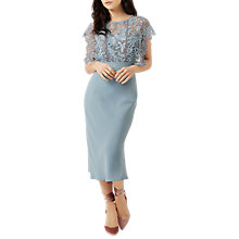 Buy Fenn Wright Manson Petite Jayne Dress, Blue/Silver Online at johnlewis.com