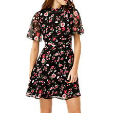 Buy Warehouse Blossom Garden Dress, Multi Online at johnlewis.com
