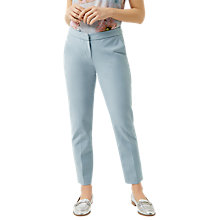 Buy Fenn Wright Manson Petite Athens Trousers, Blue Online at johnlewis.com