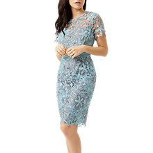 Buy Fenn Wright Manson Petite Wren Dress, Blue/Silver Online at johnlewis.com