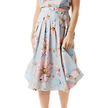 Buy Fenn Wright Manson Petite Petunia Skirt, Blue Floral Online at johnlewis.com