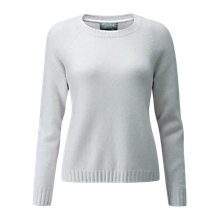 Buy Pure Collection Cashmere Lofty Jumper, Iced Grey Online at johnlewis.com