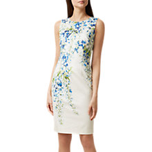 Buy Hobbs Fiona Dress, Multi Online at johnlewis.com