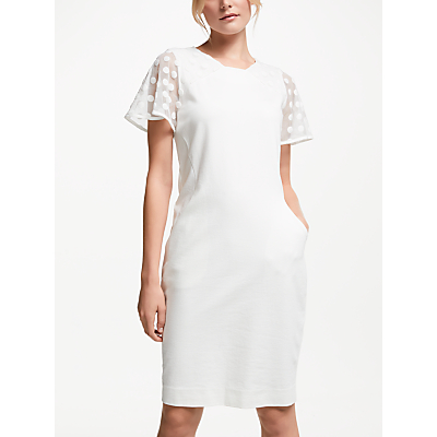 Winser London Hourglass Miracle Dress, Ivory