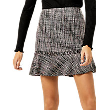 Buy Warehouse Molly Tweed Skirt, Multi Online at johnlewis.com
