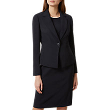 Buy Hobbs Christine Jacket, Navy Online at johnlewis.com