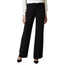 Buy Hobbs Christine Trousers, Navy Online at johnlewis.com