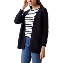 Buy Hobbs Louisa Cardigan, Navy Online at johnlewis.com