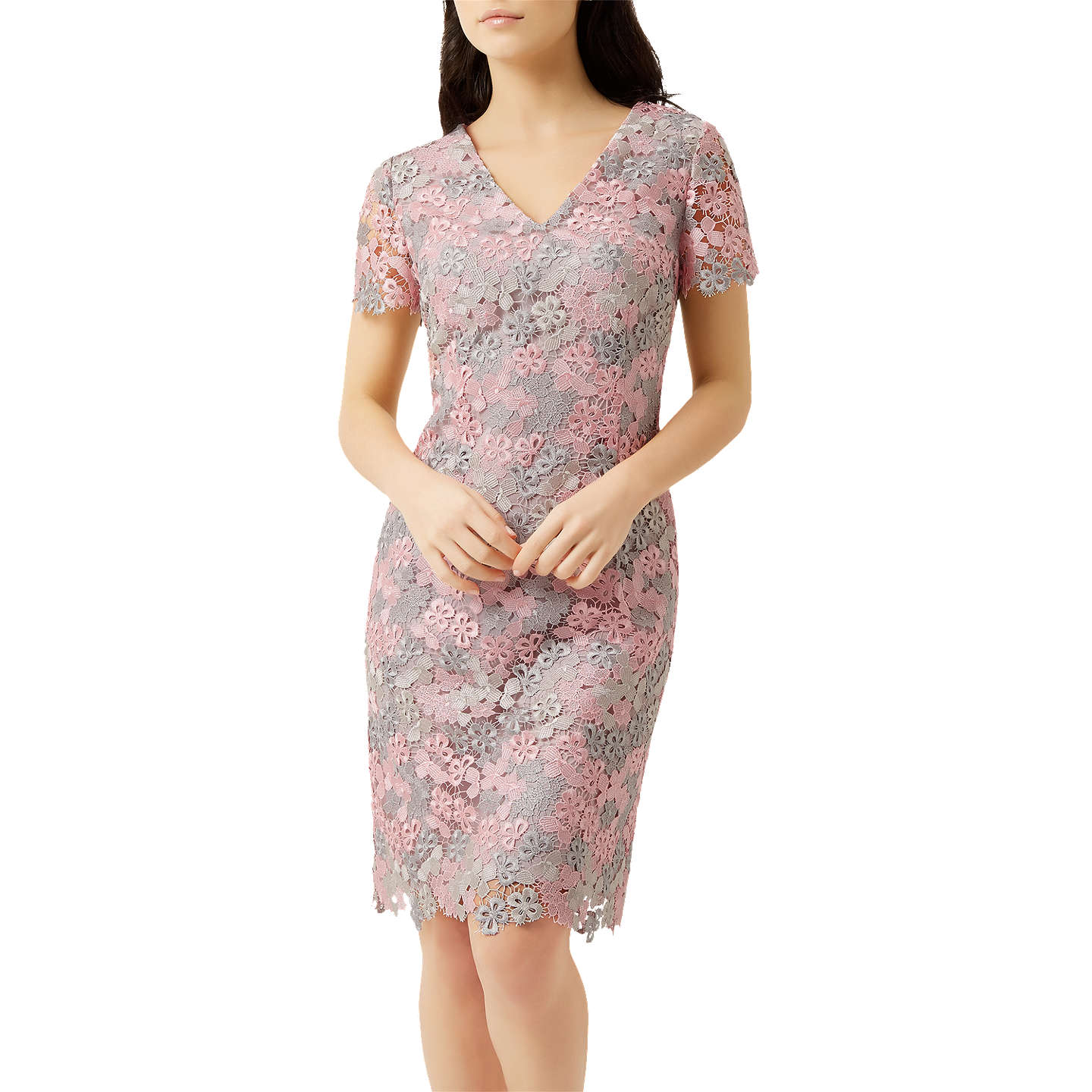 Fenn Wright Manson Petite Molly Dress, Pink At John Lewis