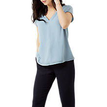 Buy Fenn Wright Manson Petite Frida Top, Pale Blue Online at johnlewis.com