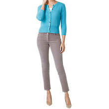 Buy Pure Collection Cashmere Cropped Cardigan Online at johnlewis.com