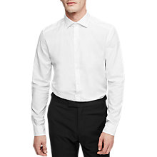 Buy Reiss Bruce Spread Collar Cotton Shirt, White Online at johnlewis.com