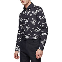 Buy Reiss Maui Floral Shirt, Navy Online at johnlewis.com