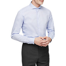 Buy Reiss Cloud Cutaway Collar Cotton Shirt Online at johnlewis.com