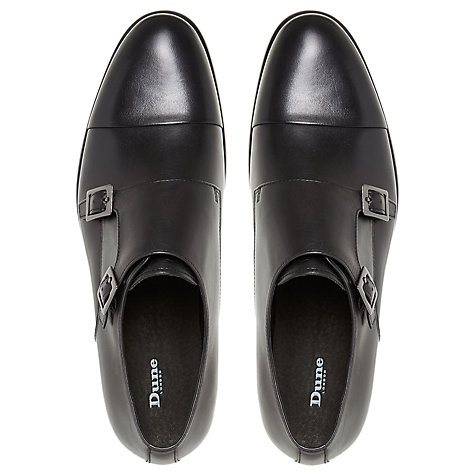 Buy Dune Pires Double Buckle Monk Shoes Online at johnlewis.com