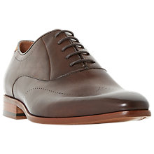 Buy Dune Pato Gibson Leather Oxford Shoes Online at johnlewis.com