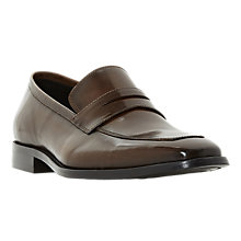 Buy Dune Philipe Saddle Detail Leather Loafers Online at johnlewis.com