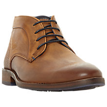 Buy Dune Claybourne Chukka Boots, Tan Online at johnlewis.com