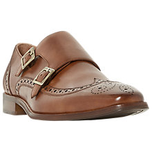 Buy Dune Patch Double Buckle Monk Shoes Online at johnlewis.com