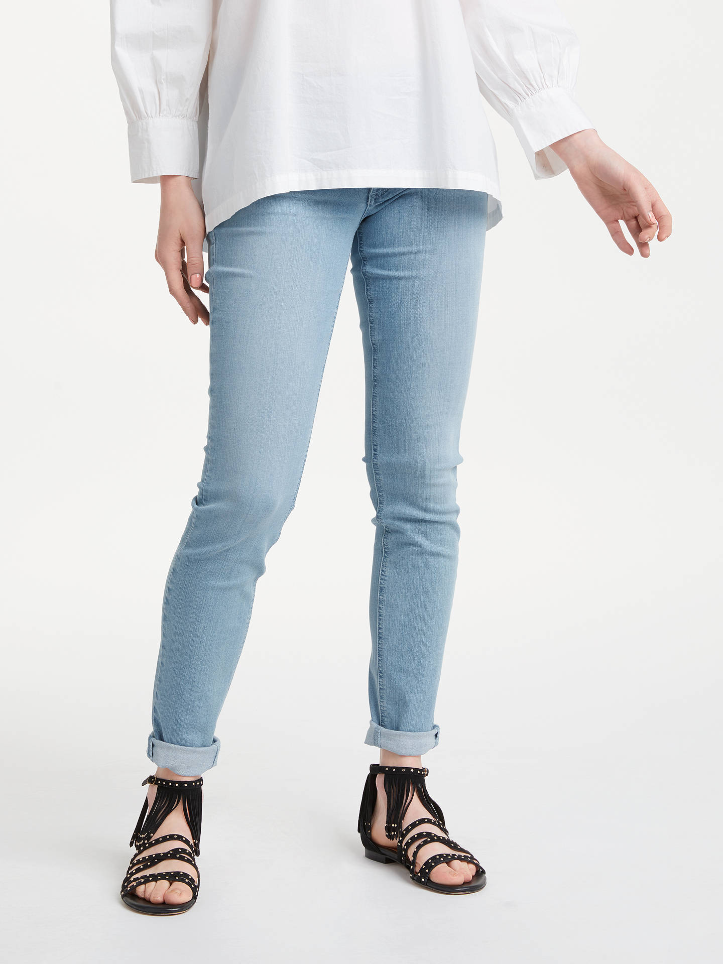 BuyAND/OR Abbot Kinney Sunkissed Skinny Jeans, Blue, 28 Online at johnlewis.com